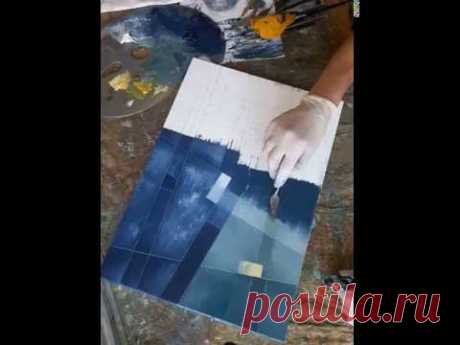 Painting in progress by Eugene Ivanov. 2018. Part 1. - YouTube