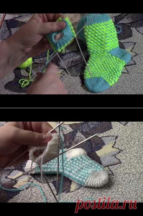 (11) Детские носочки на 2 2 5 года - YouTube