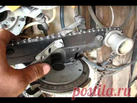 Как заточить цепь бензопилы \How to hone a chain of chainsaw - YouTube