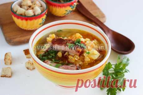 Гороховый суп с ребрышками в мультиварке | Волшебная Eда.ру