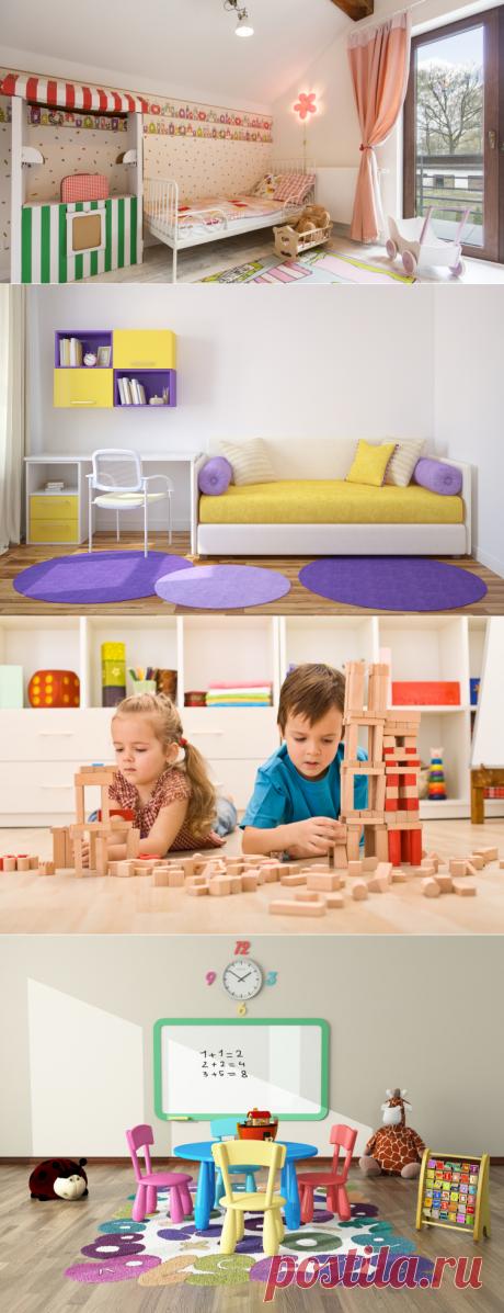 Оформление детской: как обычную комнату сделать любимой для детей?   Дом и семья