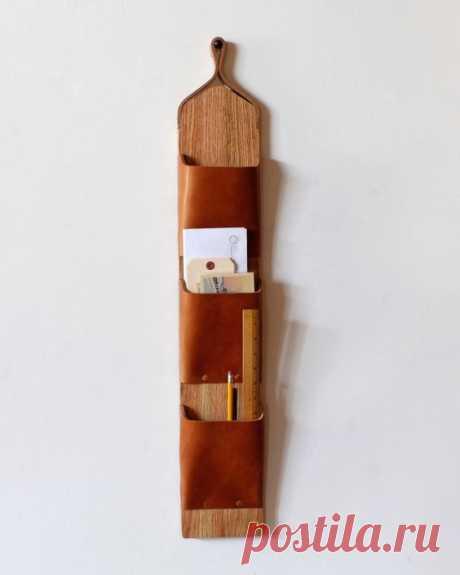 Деревянные карманы