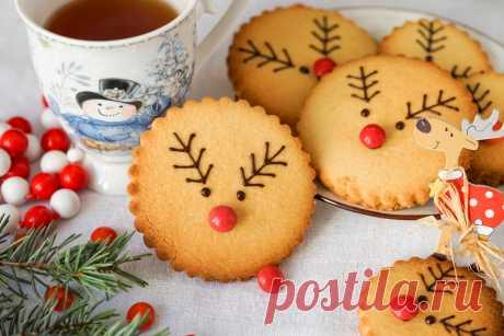 """Новогоднее печенье """"Рудольф"""" Тайм-менеджмент на кухне: как сохранить время, силы, деньги и всех вкусно накормить"""