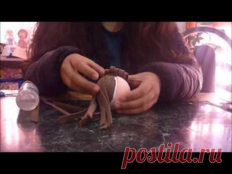 Princesa Bella - 1era parte como hacer peinado-