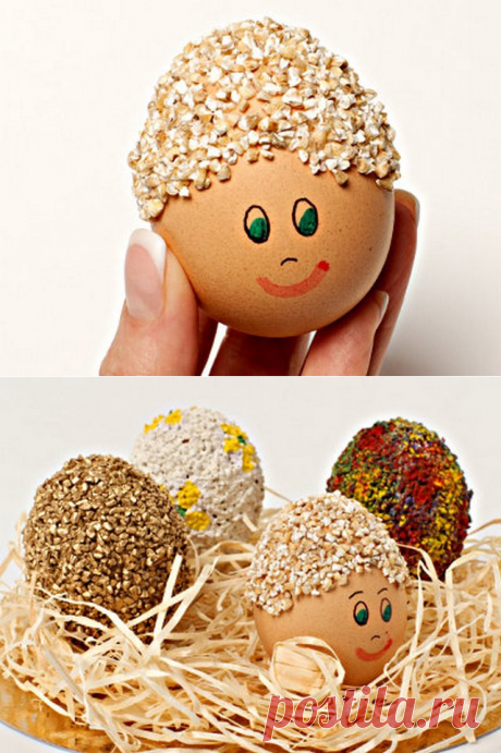 Пасхальные яйца - такие миленькие (мастер-класс) | razpetelka.ru