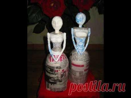 Заготовка для куклы. Папье-маше / Работа с бумагой / PassionForum - мастер-классы по рукоделию