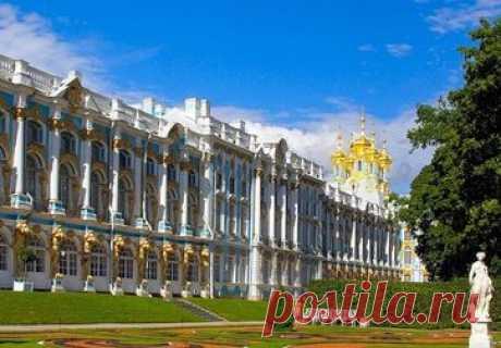 Автобусная экскурсия в Пушкин, Екатерининский дворец из Санкт-Петербурга