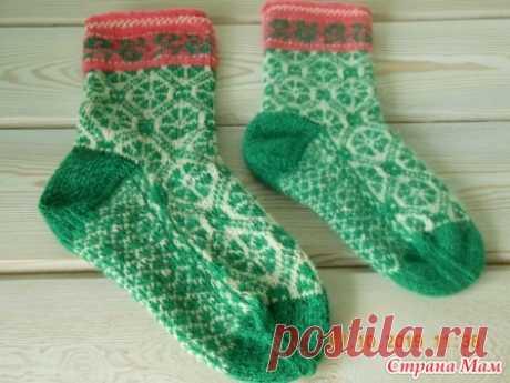 Эстонские носочки, возврат к любимому - Вязание - Страна Мам