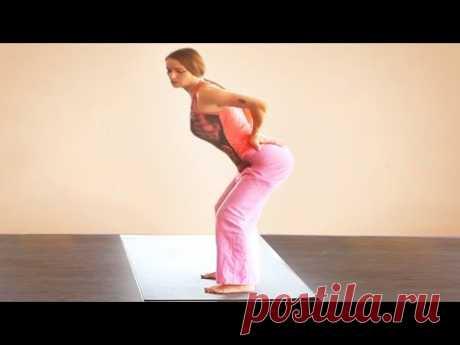 Лечебная йога для больной поясницы. Упражнение для поясничного отдела. Йоготерапия позвоночника