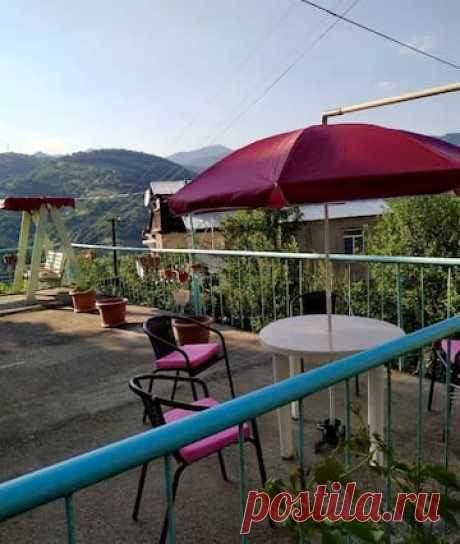SUNNY SWEET HOME WITH A BALCONY AND MOUNTAIN VIEW — Гостевые апартаменты в аренду в г. Dilijan