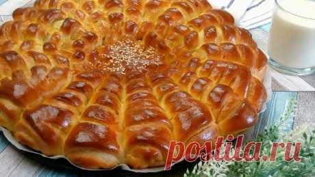Пирог~Ромашка или булочки с вкусной начинкой | Евгения Мальцева | Яндекс Дзен