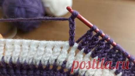 Самое простое тунисское вязание / Домоседы