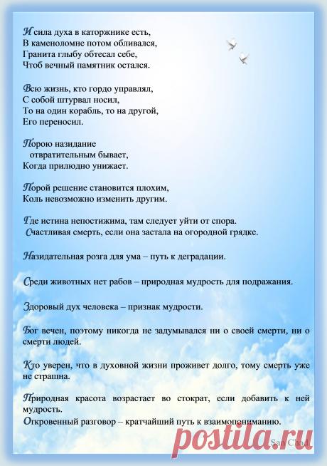 Афоризмы Черных Александра Дмитриевича (псевд. Сан Чад). Стр.13.