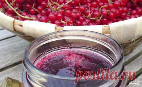 Варенье из красной смородины на зиму - пошаговый рецепт с фото на Повар.ру