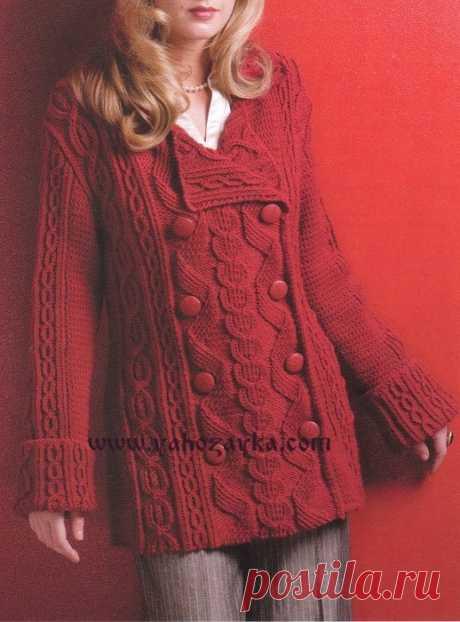 Короткое пальто спицами схемами. Женское пальто спицами Короткое пальто спицами схемами. Женское пальто спицами