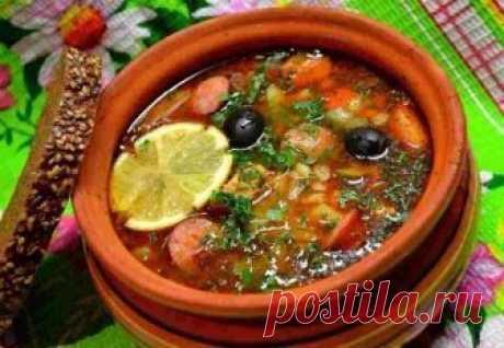 5 RECIPES of EXCELLENT SOLYANKAS | Tasty recipes