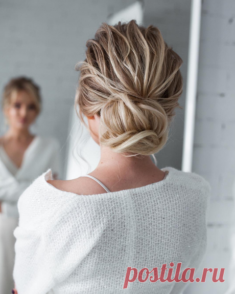 Прическа пучок 2020: как сделать пучок на любую длинну волос