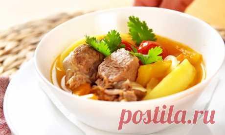 Хашлама из баранины | Рецепты на SuperKuhen.ru