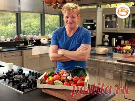 Месяц Гордона Рамзи на телеканале «Кухня ТВ» - кулинарная новость