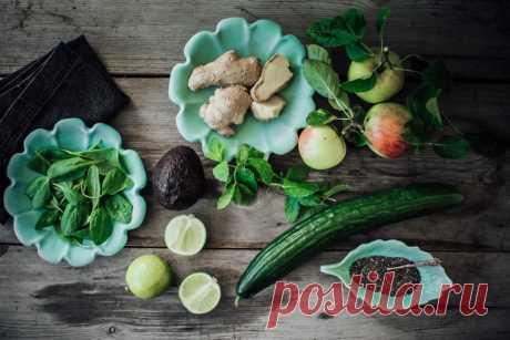 Весенний детокс: green smoothie на завтрак – Woman & Delice