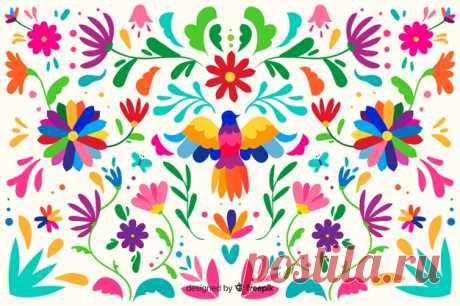 Descarga gratis Fondo de tejido floral mexicano Descubre miles de vectores gratis y libres de derechos en Freepik