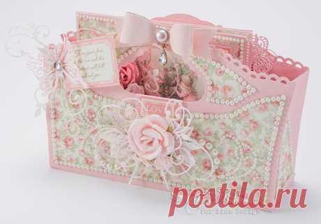 Pion Design Cherry Blossom Lane Flower Wagon   Tara's Craft Studio