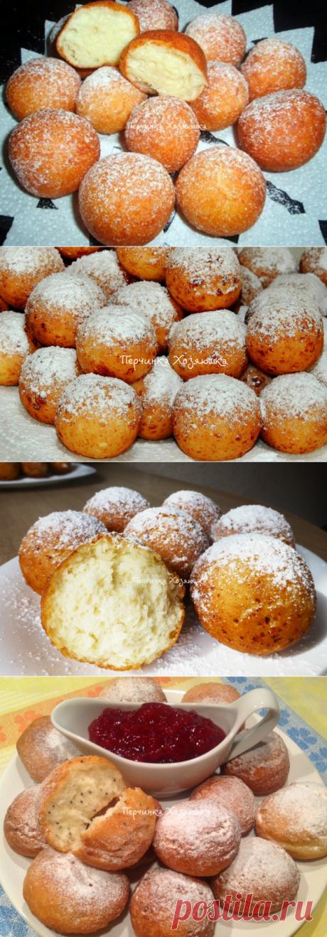 Рецепты творожных пончиков