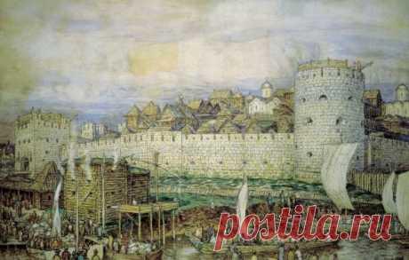 Картинки древней Москвы (38 ФОТО) ⭐ Забавник