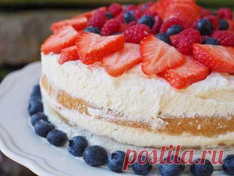 Торт на молоке без яиц рецепт с фото - 1000.menu