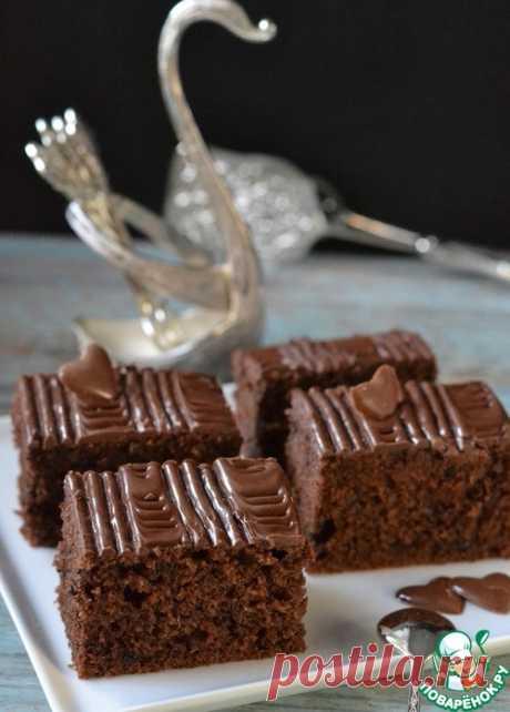 Шоколадный пирог на красном вине – кулинарный рецепт