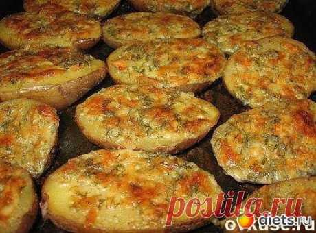 Чесночный картофель-просто,вкусно..бюджетно+видео