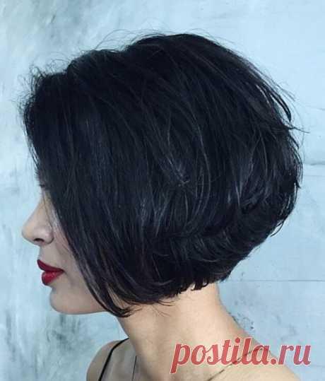 Шестьдесят стильных многослойных стрижек для коротких волос — Мир интересного