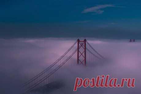 Мост через облака.