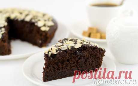 Шоколадный пирог со свеклой. Необычно и очень вкусно.