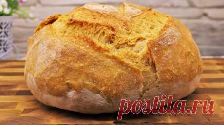 Хлеб в магазине не покупаю больше года. Для тех, кто не любит возиться с тестом - рецепт выручалочка | Как Вкусно! С Ириной Юхновец | Яндекс Дзен