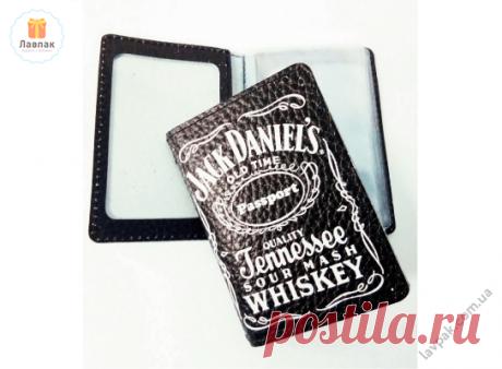 Jack Daniels (Джек Дениелс) - Кожаная обложка для автодокументов, ID-карты  → Купить за 189 грн. → Цена, Отзывы