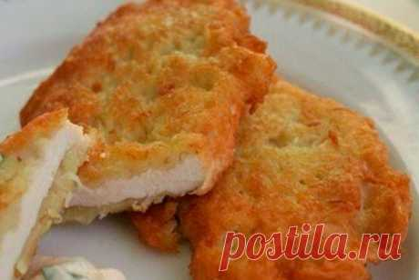 Куриная грудка в сырном кляре рецепт – итальянская кухня: закуски. «Еда»