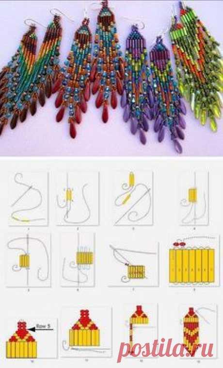 Кирпичное плетение.