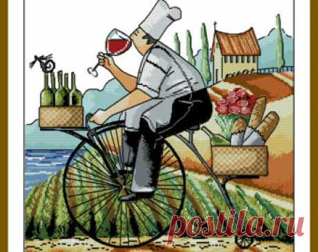 Chefs delivery Ronald West Instant PDF Digital from 100patterns
