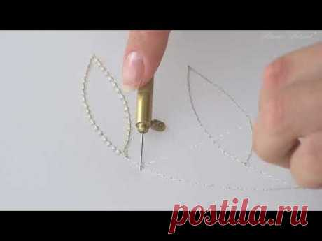 Luneville Embroidery Tutorial. Beginner. Module 1. Lesson 3