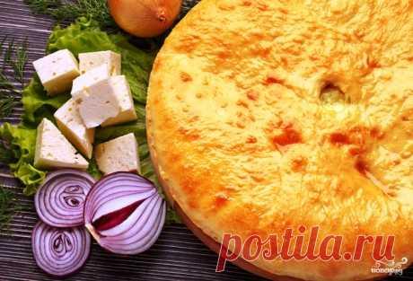 Осетинский пирог с курицей - пошаговый рецепт с фото на Повар.ру