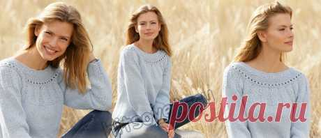 Вязание джемпера Cornflower - Хитсовет