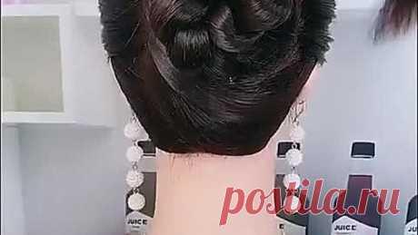 Como recoger hermosamente los cabellos