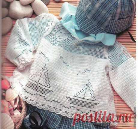 Филейное вязание для детей » Ниткой - вязаные вещи для вашего дома, вязание крючком, вязание спицами, схемы вязания