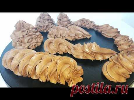 Шоколадный Крем ПЛОМБИР Густой И Плотный Для ТОРТОВ и Пирожных