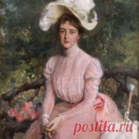 """Angelica Schuyler Crosby (Mrs. John B.) Henderson Jr."" by William Thorne, 1899"