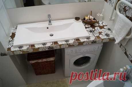 El cuarto de baño: el interior adornado