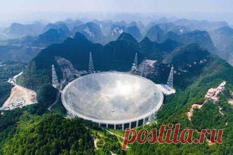 Китайские астрономы зафиксировали космические сигналы неизвестного происхождения | Наука и технологии