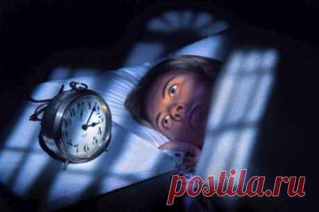 Регулярное нарушение сна в одно и то же время говорит о заболевании определенного органа