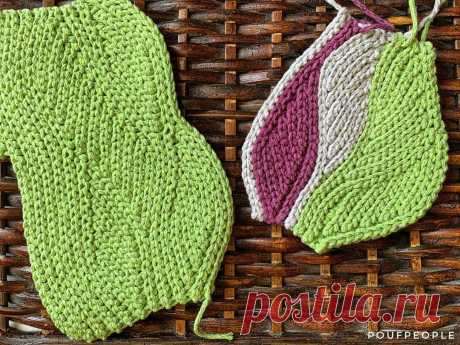 Эта техника вязания известна как «боснийская резинка» или slip stitch.